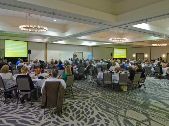The Rapides Foundation third annual symposium at the Holiday Inn Downtown focused on education.