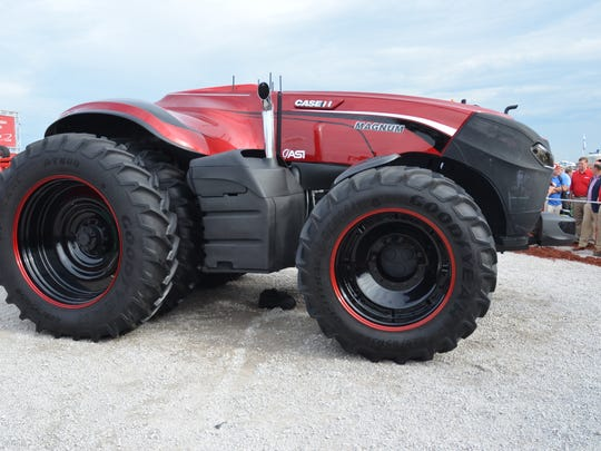 Case IH will showcase its autonomous, or driverless, tractor at the National FFA convention this week in Indianapolis.