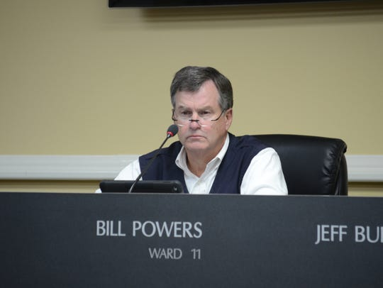 Ward 11 Bill Powers  during the special session on