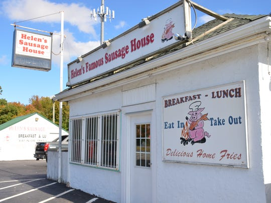 Helen's Famous Sausage House, located in Smyrna.