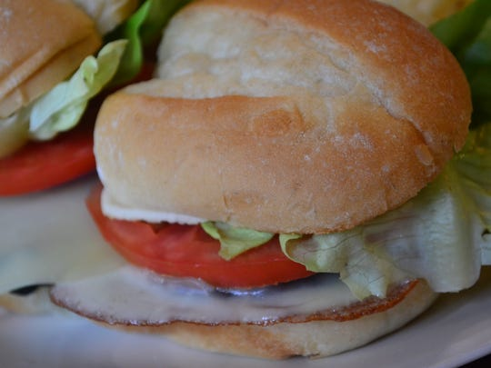 These Portobello Sliders are a great party choice and good for vegetarian guests.