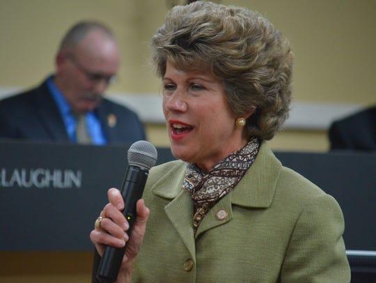 City Mayor Kim McMillan.