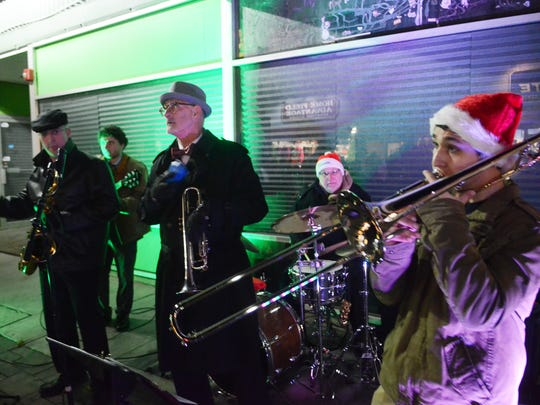 The Bon Temps perform at last year's Holiday Stroll event in Pompton Lakes. They will be returning for this year's event scheduled for Dec. 9.