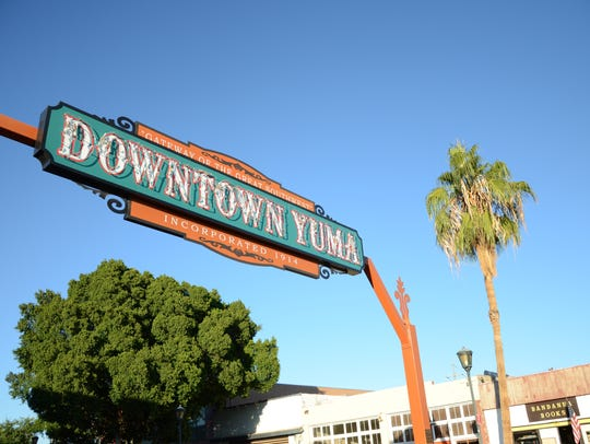 Downtown Yuma, Ariz.