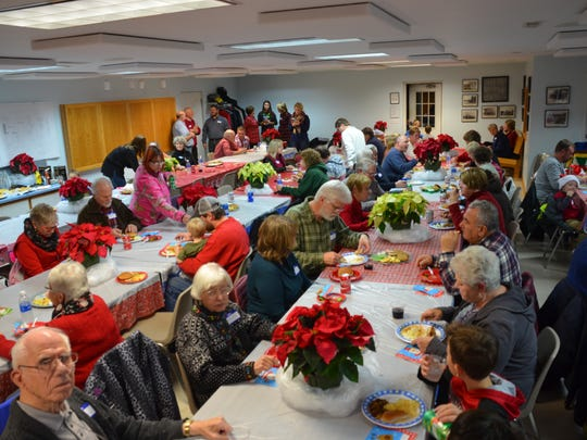 Jacksonport residents enjoyed dinner and a visit from Santa Claus at the annual Jacksonport Christmas Party.