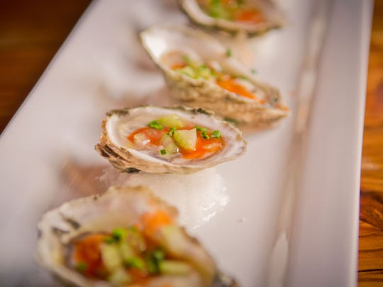 A New Year's Eve menu at Buffalo Nickel will include oysters.