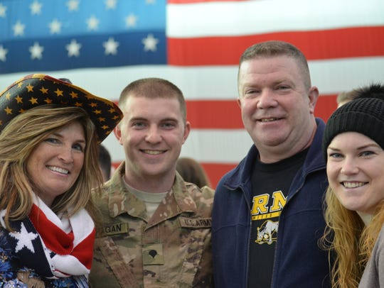 Soldiers from 2nd Brigade Combat team returned home