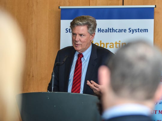 Rep. Frank Pallone gave examples of people from his