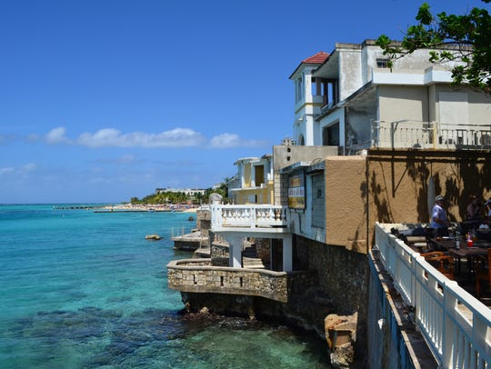Montego Bay has beautiful beaches. We are taking our