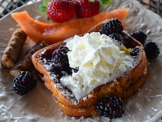 This Blackberry French Toast for Two is delectable