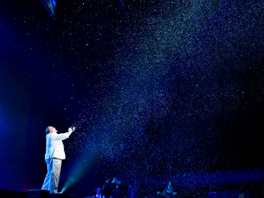 """Kevin James', """"The Inventor,"""" update on a 300-year-old trick transforms theaters into a snowstorm."""