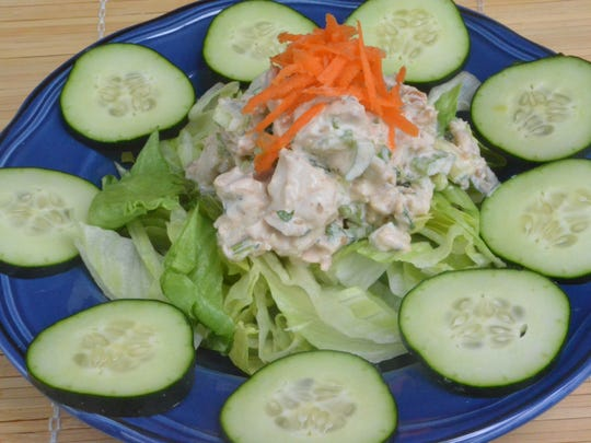 This Asian Chicken Salad is so unique and delicious, it's one of my most popular chicken salad recipes. You can eat it as an actual salad, or serve it with Ritz crackers as a dip. It's amazing.