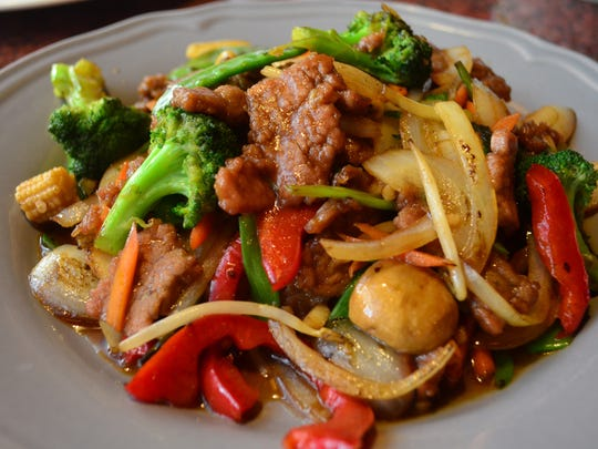 The Mongolian Beef at Yen Ching is one of our favorites,