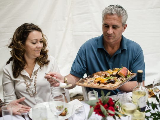 Repast, a farm-to-table style dinner. Pensacola Celebrity