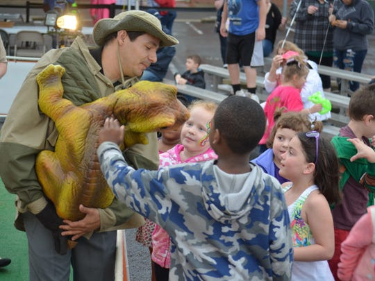 The Jurassic Kingdom attracted the largest crowd on