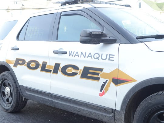 A Wanaque police car.
