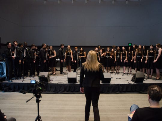 Edgemont High School's Vocal Jazz Ensemble, under director Kelley Morse, notched its fourth consecutive win at the Berklee College of Music's 49th annual High School Jazz Festival.