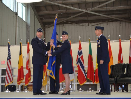 80th Flying Training Wing Change of Command