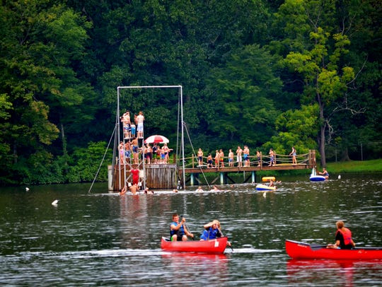 When swimming or boating, having PFD's lead to peace