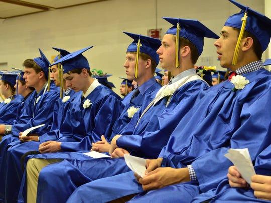 Milton High School class of 2017 graduated on Saturday,