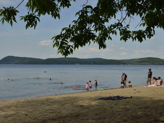 Sand Bar State Park, Milton Vermont on Saturday, June