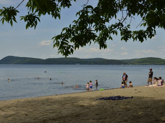 Sand Bar State Park, Milton Vermont on Saturday, June