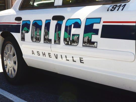 Asheville Police Department patrol car