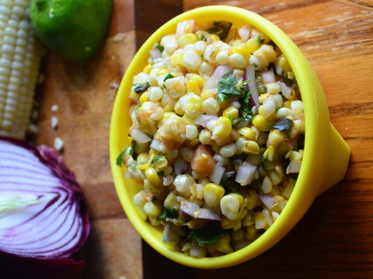 If you have a bounty of corn this summer, try this