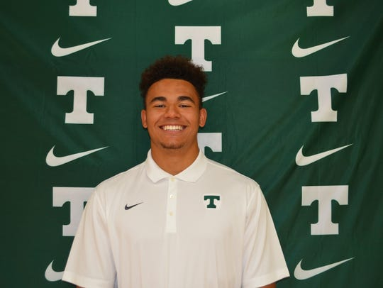 Trinity defensive end Stephen Herron is ranked as the