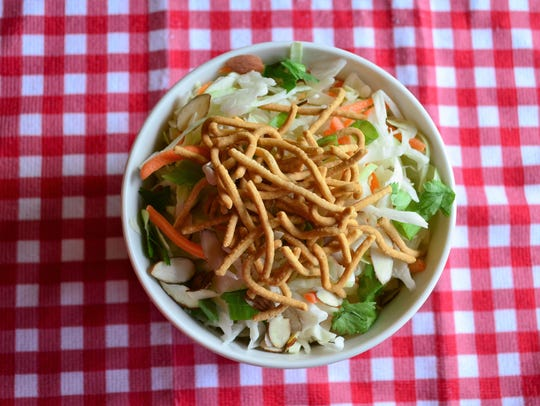 Take this Asian Slaw to a  potluck or picnic. It's