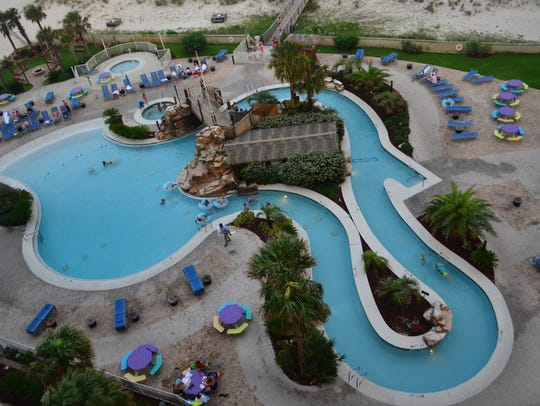 We stayed at the Holiday Inn Resort in Pensacola Beach