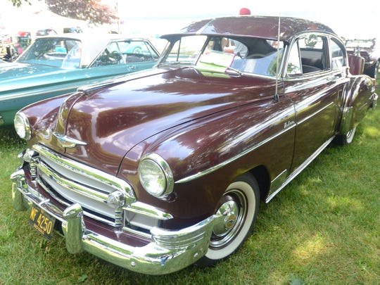 A 1950 Chevrolet Fleetline, owned by Jerry Williams of St. Clair.