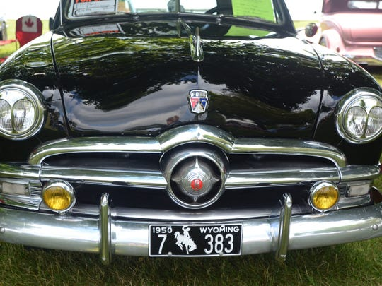 A 1950 Ford owned by Don Evans of Kimball Township