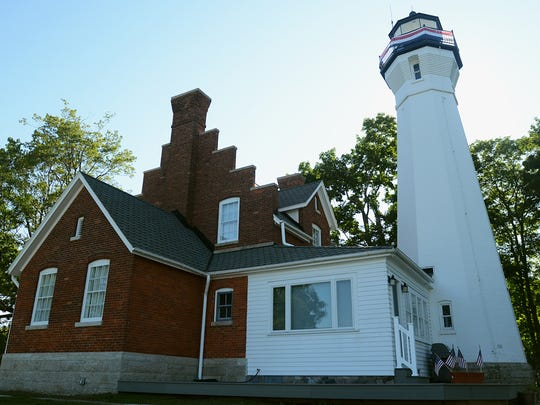 A man from Fenton purchased the Port Sanilac Lighthouse two years ago and has worked to restore the historical site since then.