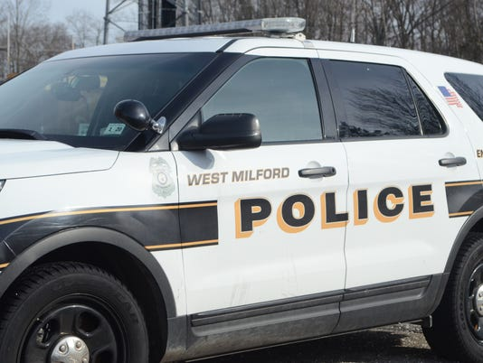 West Milford Police vehicle