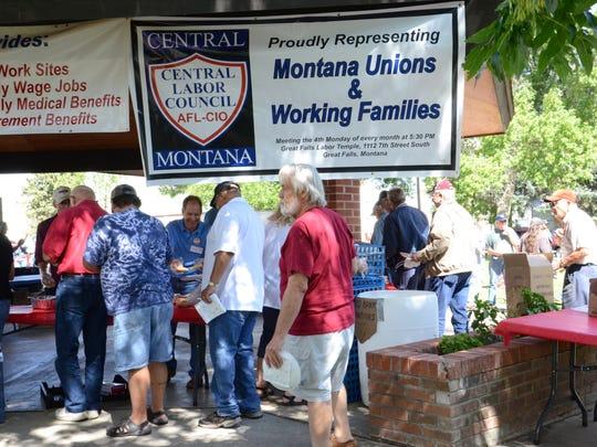 The annual Labor Union Labor Day Picnic takes place