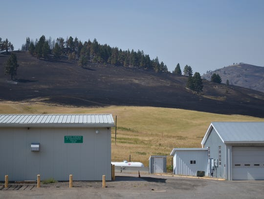 The Alice Creek Fire came about 200 yards from a Montana