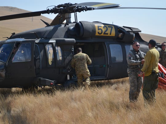 Montana Air National Guard crews get ready to take
