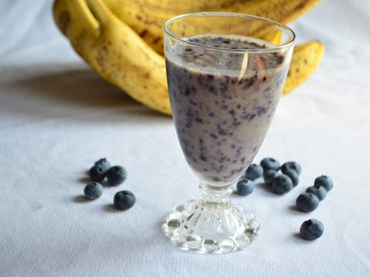 Blueberry Banana is a quick and simple smoothie and