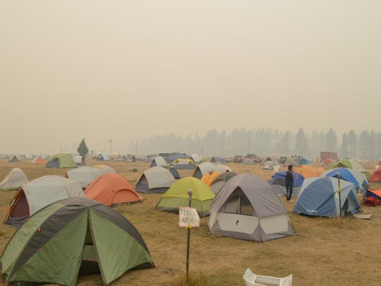 Smoke blanketed the Seeley Lake community and the incident