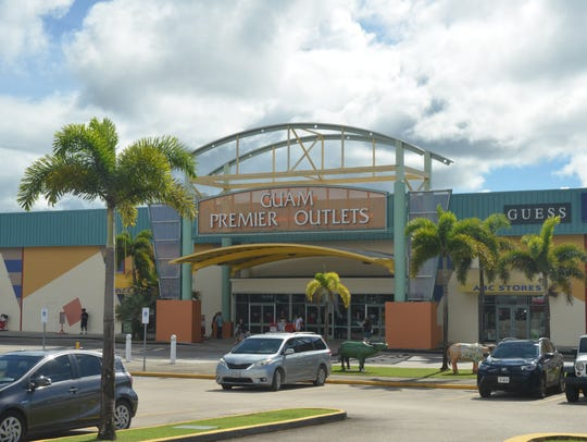 Guam Premier Outlets, located in Tamuning