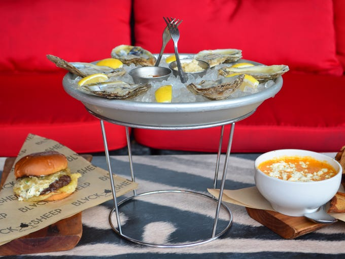 : Grab a few friends and share an assortment of small