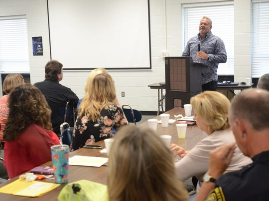 The Sanilac County FAN chapter is launching a monthly guest speaker series to address the growing opioid epidemic. Randy Grimes was their first speaker.