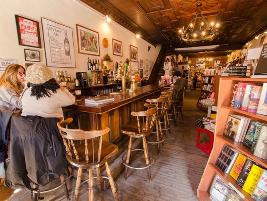 The Spotty Dog Books & Ale in Hudson pairs books with