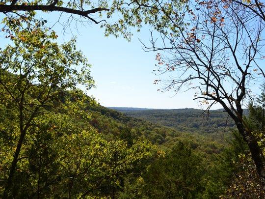 There are plenty of beautiful Ozark Mountain scenes