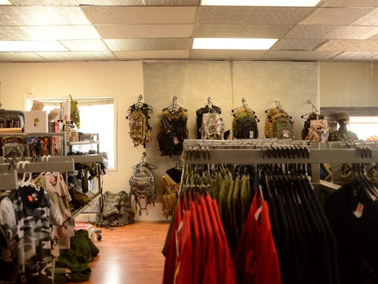 Lake Adventure Outdoors is a military surplus store,