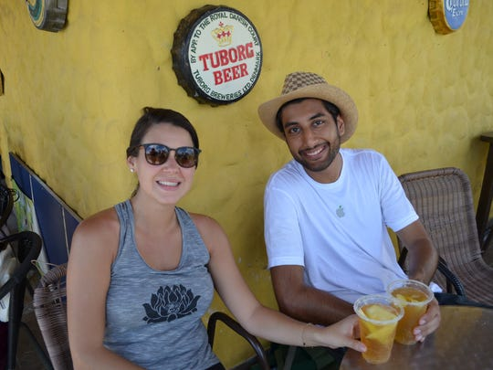 Cortney Loot, a speech therapist and business owner, and Sahil Kotak, an education technology consultant, traveled to Colombia through Venture with Impact.
