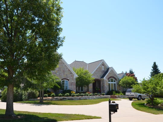 This home on Burr Oaks Drive in West Des Moines sold for $1,275,000.