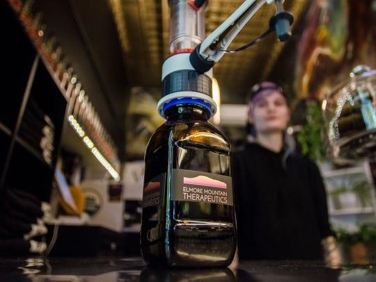 Elmore Mountain Therapeutics CBD-infused hemp oil is