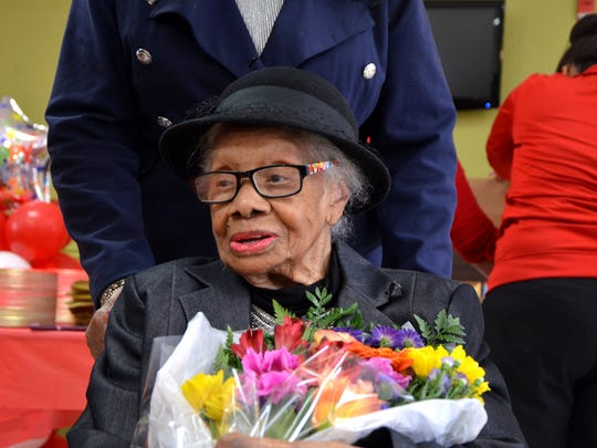 Ellen Goodwill is the oldest known person in Calhoun County at 111 years old.